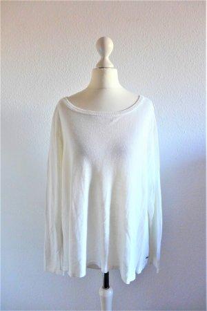 Laura Scott Pulli Pullover Oberteil Shirt scandi weiß Gr. 40/42 L