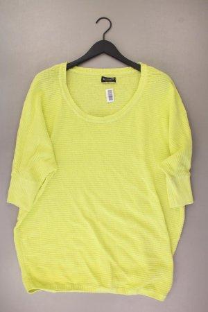 Laura Scott Pullover Größe 44/46 gelb aus Viskose