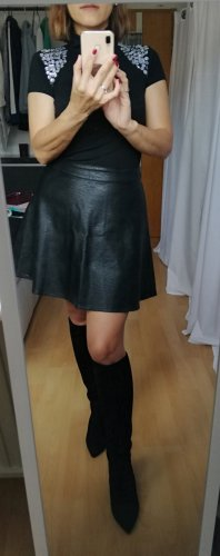 Laura Scott Rollkragentop rollkragen shirt 34/36 schwarz ärmellos XS/S