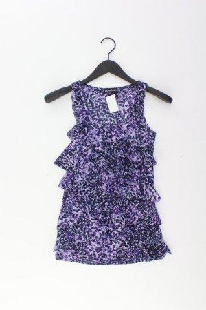 Laura Scott Frill Top lilac-mauve-purple-dark violet polyester