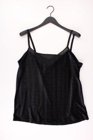 Laura Scott Samttop Größe 46 schwarz aus Polyester