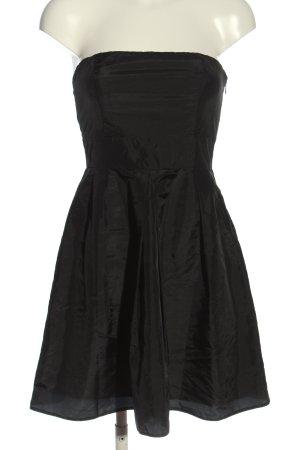 Laura Scott schulterfreies Kleid schwarz Elegant