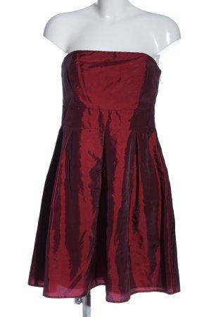 Laura Scott schulterfreies Kleid rot Elegant