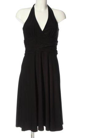 Laura Scott schulterfreies Kleid schwarz Casual-Look