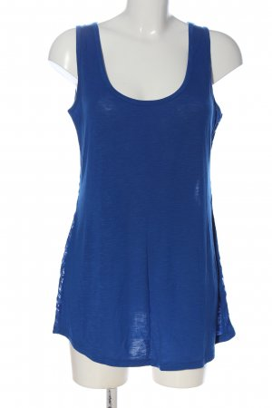 Laura Scott Spitzentop blau Casual-Look