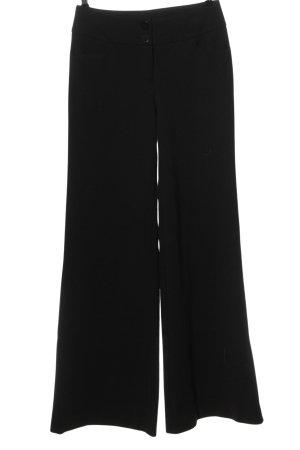 Laura Scott Pantalone jersey nero stile casual