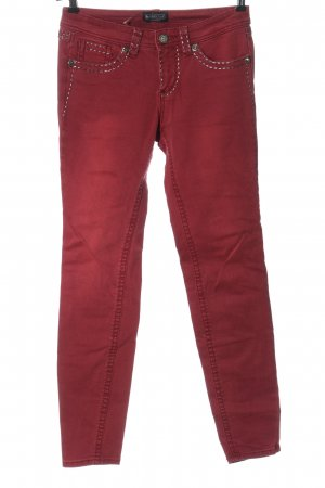Laura Scott Straight-Leg Jeans rot Casual-Look