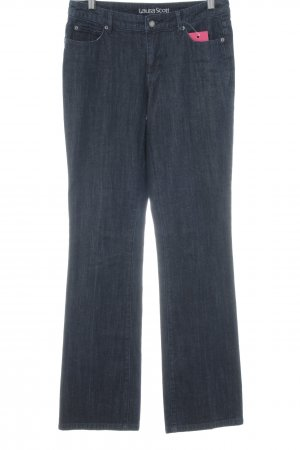Laura Scott Straight-Leg Jeans dunkelblau Casual-Look