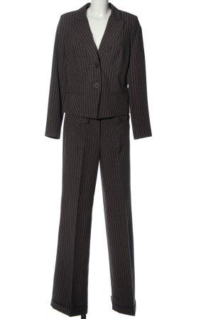 Laura Scott Twin set in maglia nero-bianco puntinato stile casual