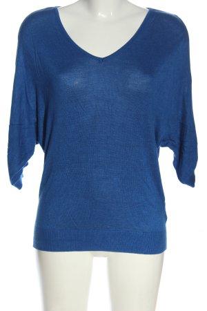 Laura Scott Strickpullover blau Casual-Look