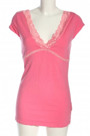 Laura Scott V-Ausschnitt-Shirt pink Elegant