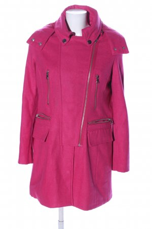 Laura Scott Wollmantel pink Casual-Look
