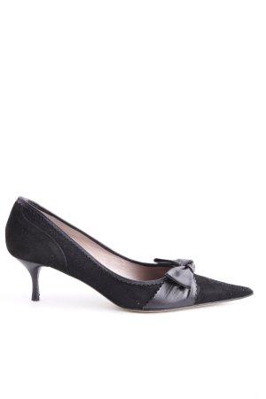 Laura Spitz-Pumps schwarz Elegant