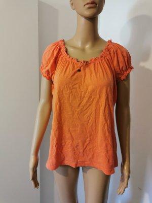 Laura Torelli Tunika pomarańczowy-pomarańczowy neonowy Bawełna