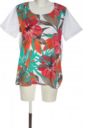 Laura T: T-Shirt Blumenmuster Casual-Look