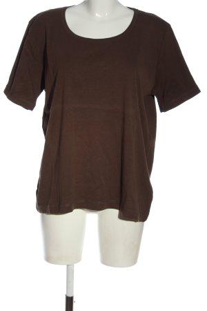 Laura T: T-Shirt braun Casual-Look