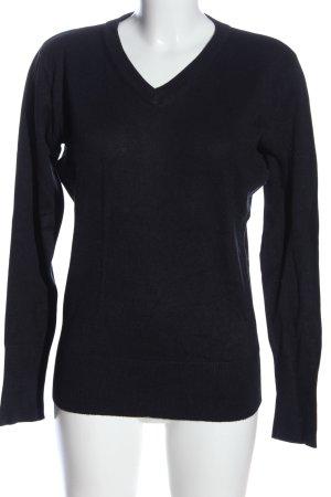 Laura T: V-Ausschnitt-Pullover