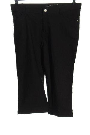 Laura Torelli 3/4-broek zwart casual uitstraling