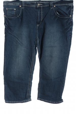 Laura Torelli Jeans a 3/4 blu stile casual