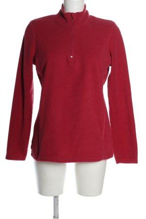 Laura Torelli Kurtka polarowa czerwony W stylu casual