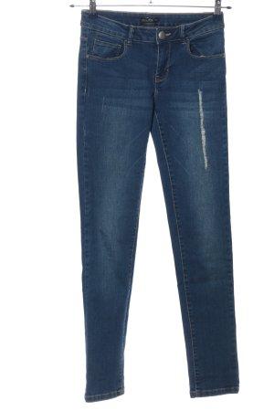 Laura Torelli Jeans a vita alta blu stile casual