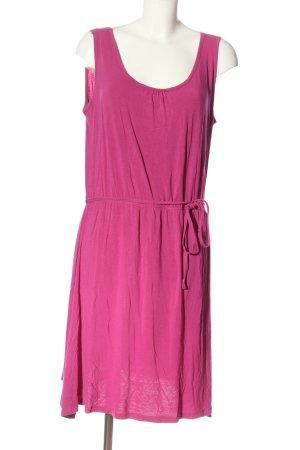 Laura Torelli Midi Dress pink casual look