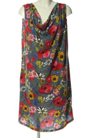Laura Torelli Minikleid Blumenmuster Casual-Look