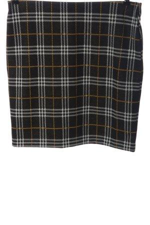 Laura Torelli Miniskirt black-white allover print casual look
