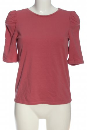 Laura Torelli T-Shirt pink Zopfmuster Casual-Look