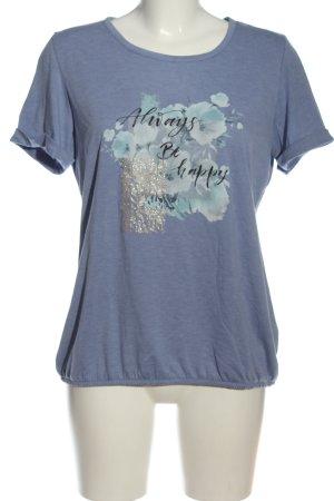Laura Torelli Print-Shirt Motivdruck Casual-Look