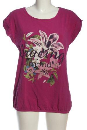 Laura Torelli Print-Shirt Blumenmuster Casual-Look