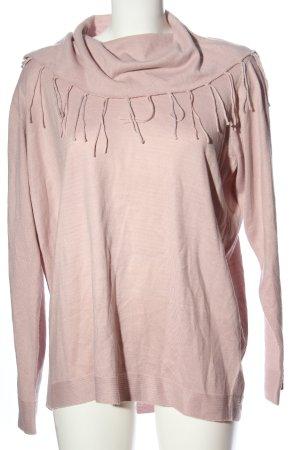 Laura Torelli Rollkragenpullover pink Casual-Look