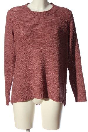 Laura Torelli Crewneck Sweater pink casual look