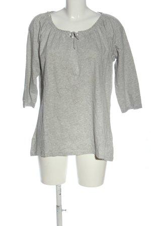 Laura Torelli T-Shirt hellgrau meliert Casual-Look