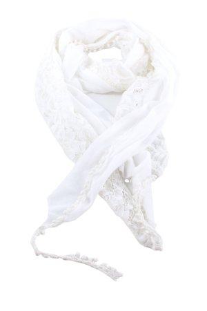Laura Torelli Chusta na ramiona biały Elegancki