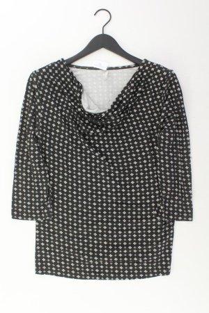 Laura Torelli Shirt Größe L schwarz aus Viskose