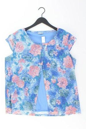 Laura Torelli Shirt mehrfarbig Blumenmuster Größe 46