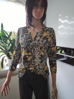 Laura Torelli Shirt mit Alloverdruck