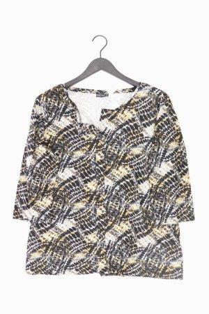 Laura Torelli Shirt mit V-Ausschnitt Größe XL 3/4 Ärmel mehrfarbig aus Viskose