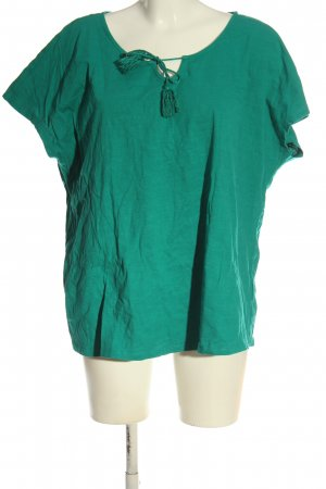 Laura Torelli Strickshirt grün Casual-Look