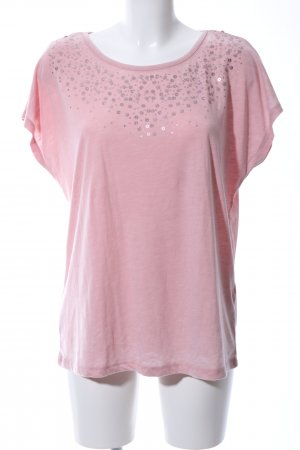 Laura Torelli T-Shirt pink Casual-Look