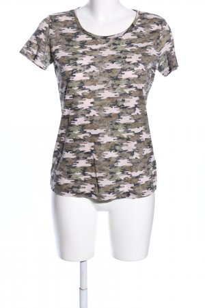 Laura Torelli T-Shirt Camouflagemuster Casual-Look