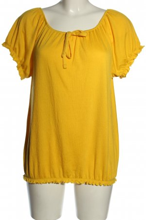 Laura Torelli T-Shirt blassgelb Casual-Look