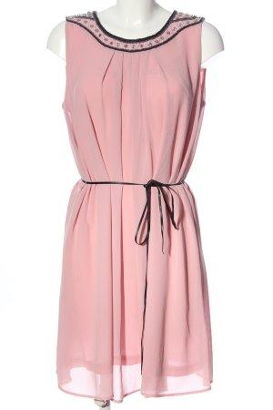 Laura Torelli Pinafore dress pink elegant