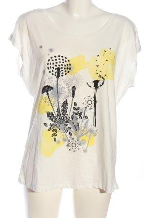 Laura Torelli Shirttunika Blumenmuster Casual-Look