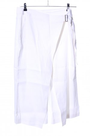 Laurèl Pantalón tobillero blanco estilo «business»