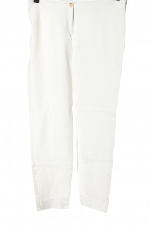 Laurèl 7/8 Length Trousers white casual look