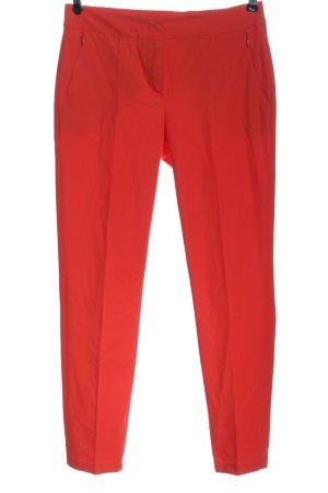 Laurèl Pantalone a 7/8 rosso stile casual