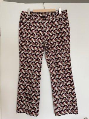 Laurèl 7/8 Length Trousers multicolored cotton