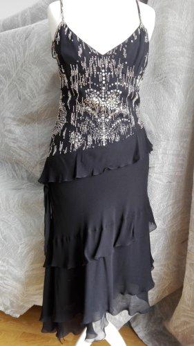 Laurel Abendkleid Gr. 34 schwarz Pailetten - Neu